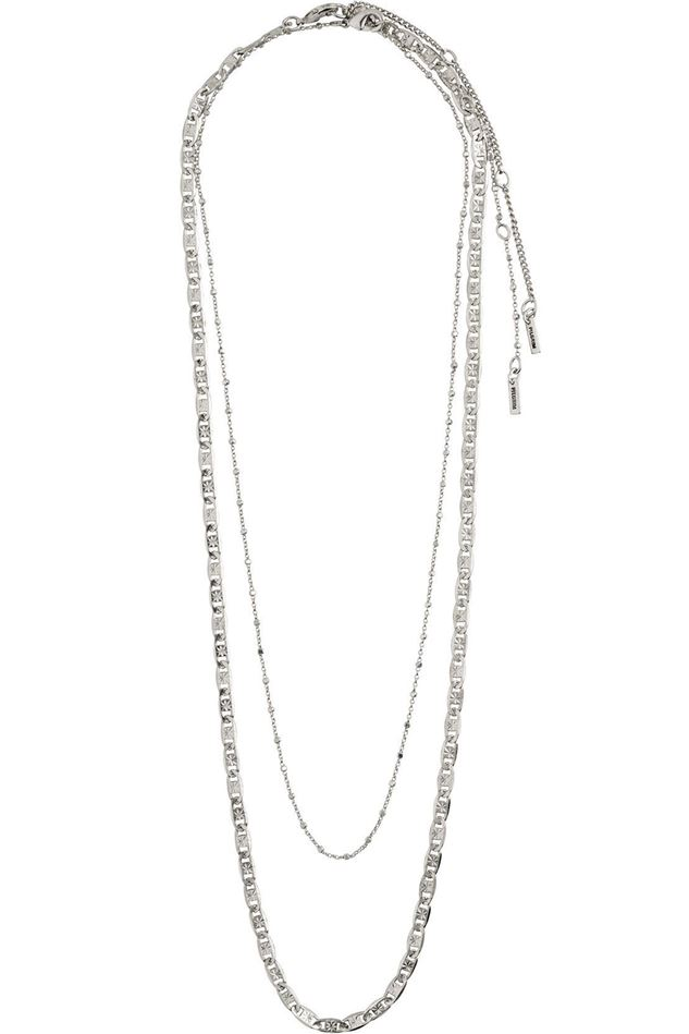 Picture of Pilgrim Intuition Silver Plated Necklace