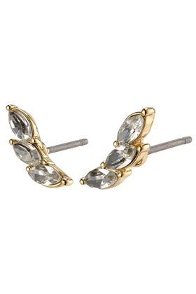 Picture of Pilgrim Mathilde Gold Plated Crystal Earrings
