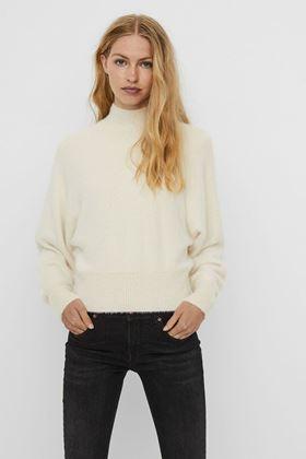 Picture of Vero Moda Alva High Neck Knitted Pullover