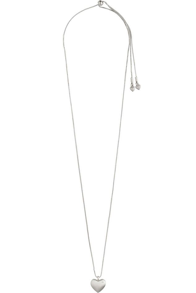 Picture of Pilgrim Sophia Silver Plated Crystal Necklace