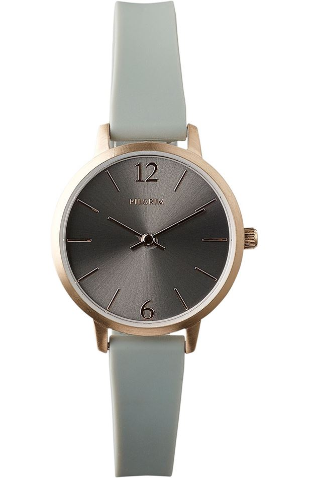 Picture of Pilgrim Bianca Rose Gold Plated Grey Watch