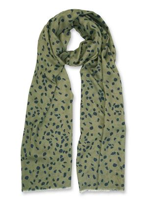 Picture of Katie Loxton Animal Print Scarf