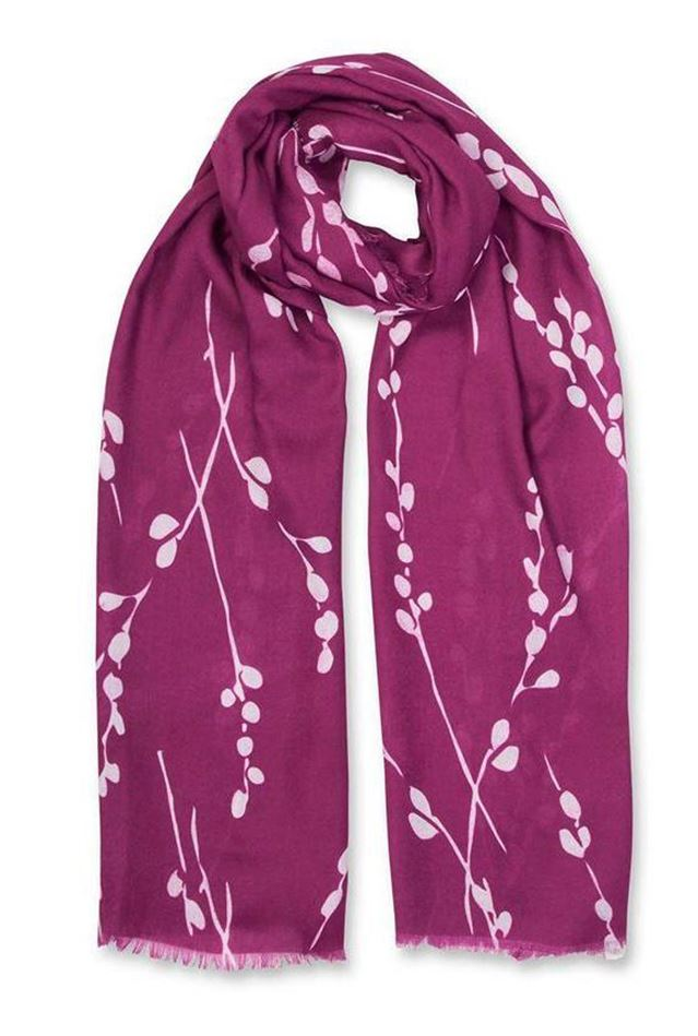 Picture of Katie Loxton Berry Winter Print Scarf