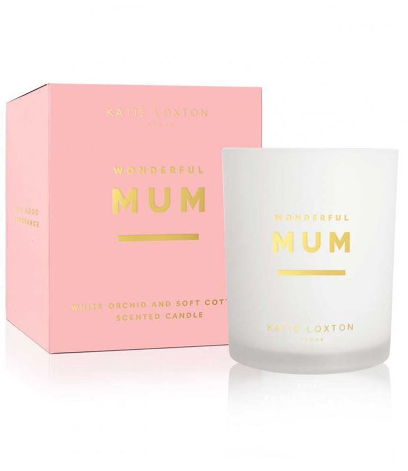 Picture of Katie Loxton Sentiment Candle - Wonderful Mum