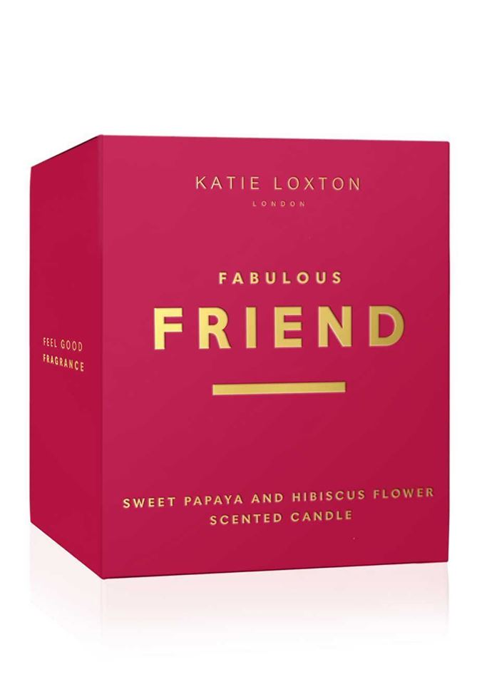 Picture of Katie Loxton Sentiment Candle - Fabulous Friend