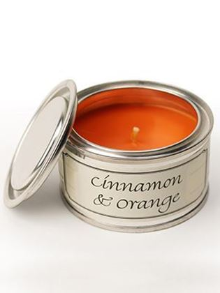 Picture of Pintail Cinnamon & Orange Paint Pot Candle