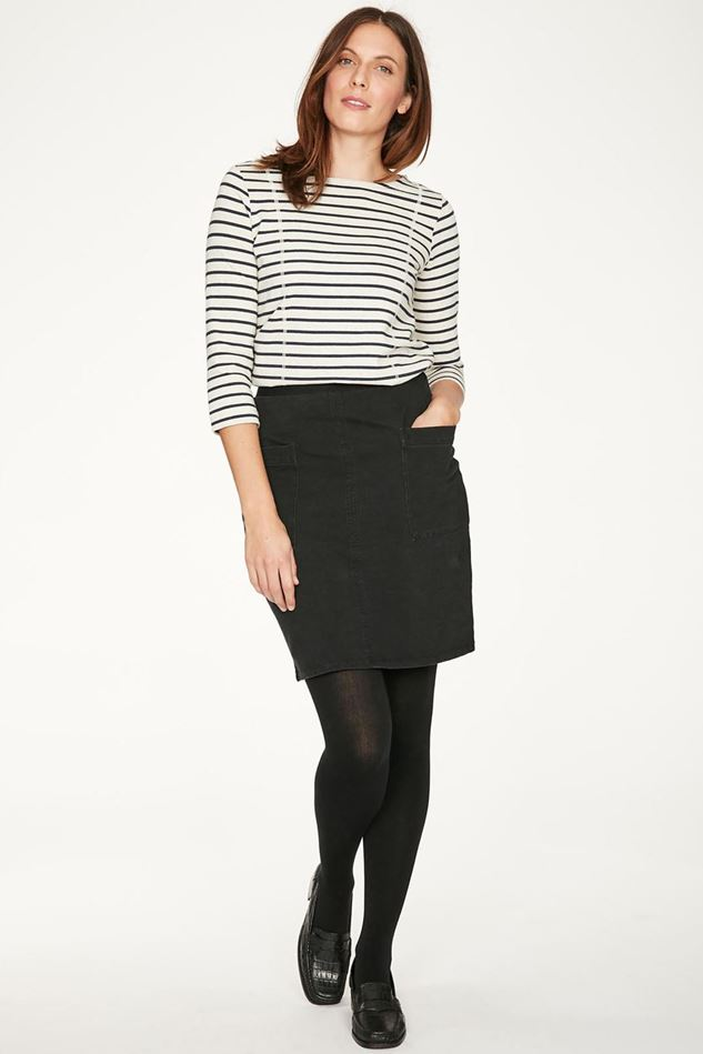 Picture of Thought Ann Organic Cotton Pocket Mini Skirt