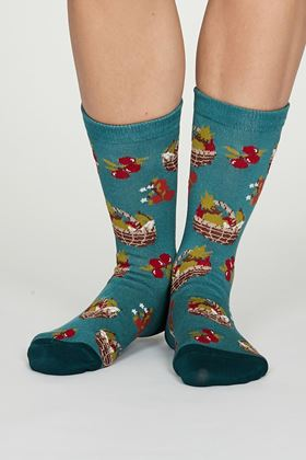 Picture of Thought Eden Bamboo Allotment Socks
