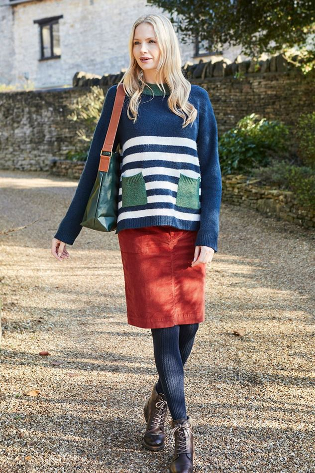 Picture of Lily and Me Hygge Stripe Jumper