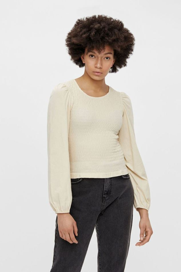 Picture of Pieces Tinna Smock Top
