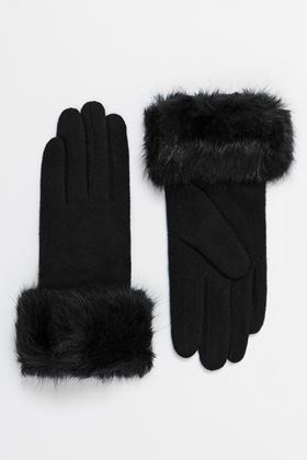 Picture of Pia Rossini Black Monroe Gloves