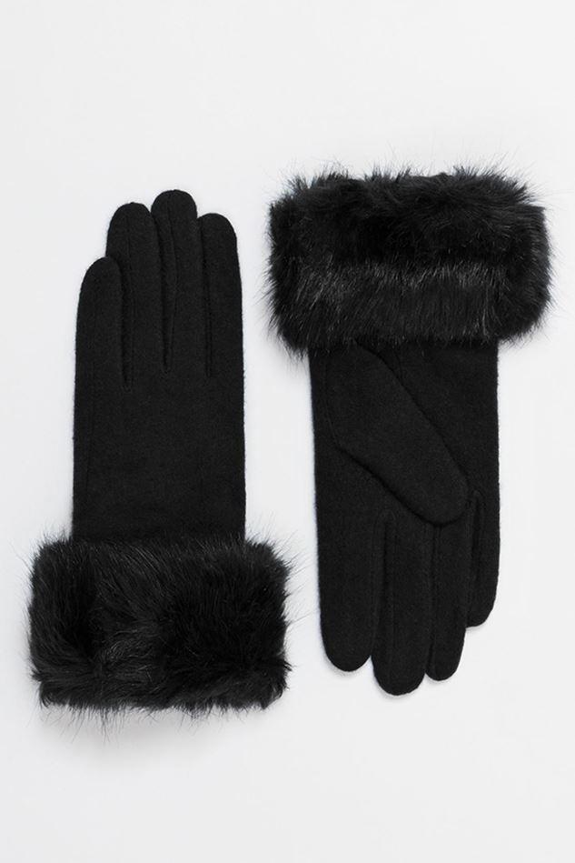Picture of Pia Rossini Black Monroe Gloves