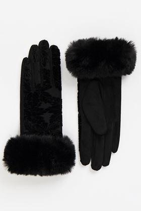 Picture of Bailey Velvet Gloves