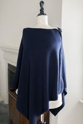 Picture of Inis Collection Zip Poncho