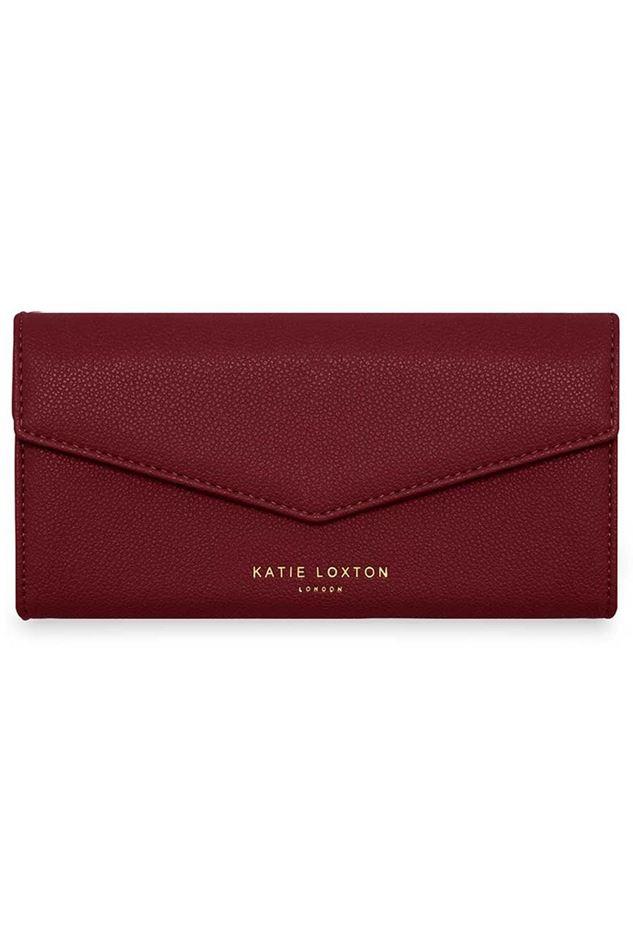 Picture of Katie Loxton Esme Envelope Purse - love life laugh often