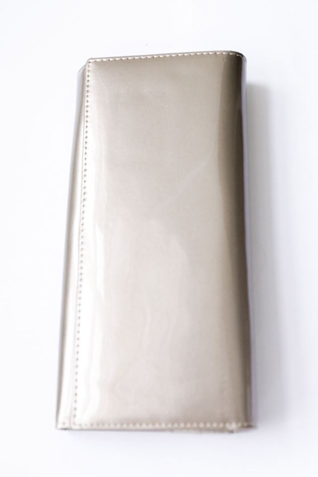 Picture of Pom Bronze Glossy Patent Purse