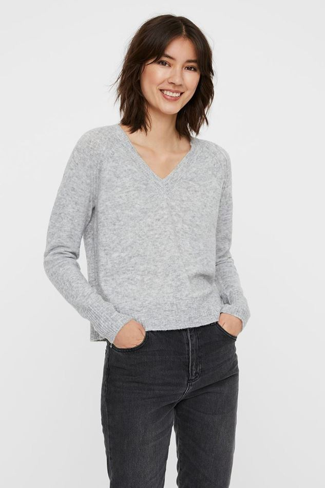 Picture of Vero Moda Wind V-Neck Knitted Pullover