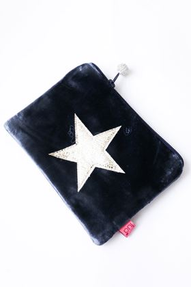 Picture of Lua Velvet Star Coin Purse