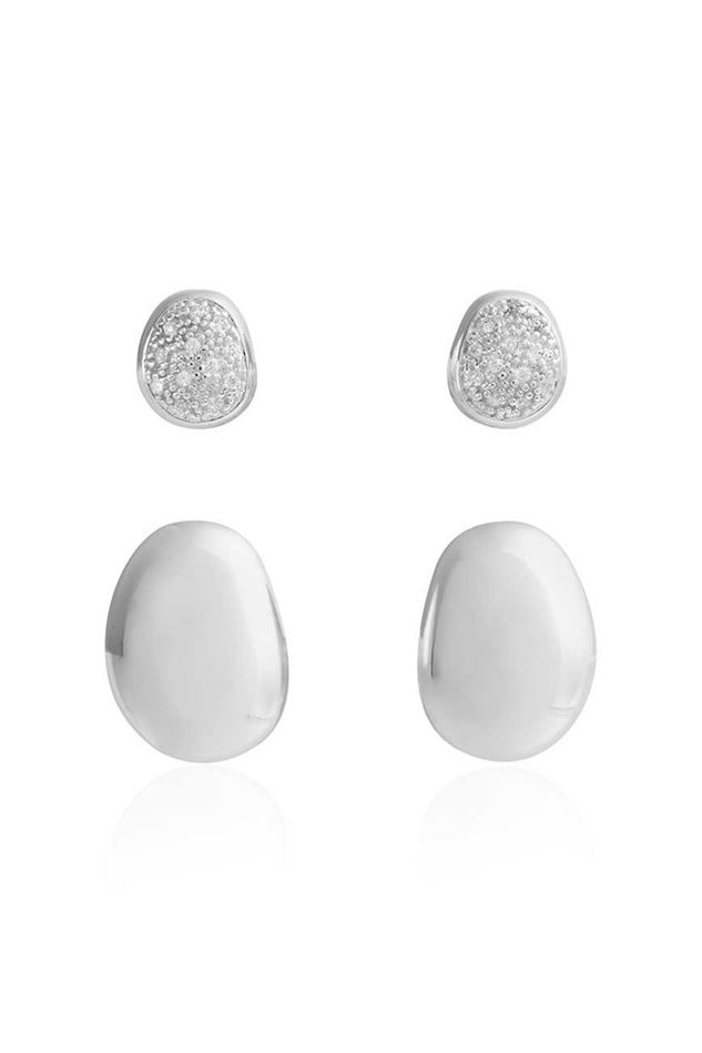 Picture of Joma Jewellery Perfect Pebbles Stud Earrings