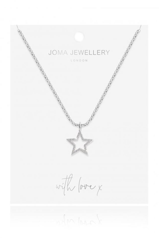 Picture of Joma Jewellery Evie Star Necklace