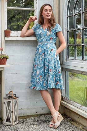 Picture of Nomads Fit and Flare Voile Dress