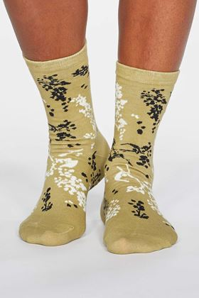 Picture of Thought Orpha Floral Organic Cotton Socks