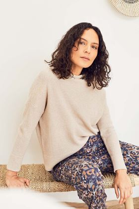 Picture of Thought Imogen Organic Cotton Wool Knit Jumper