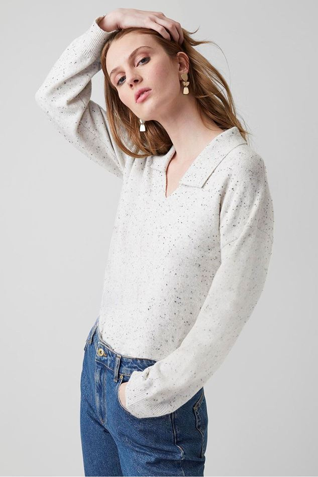 Picture of Great Plains Franky Knit Collared Jumper