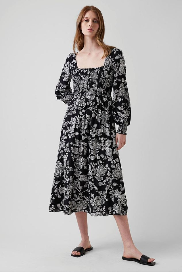 Picture of Great Plains Bali Bloom Square Neck Dress