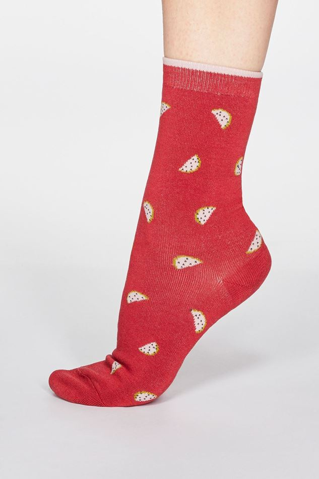Picture of Thought Rowena Fruit Bamboo Organic Cotton Blend Socks