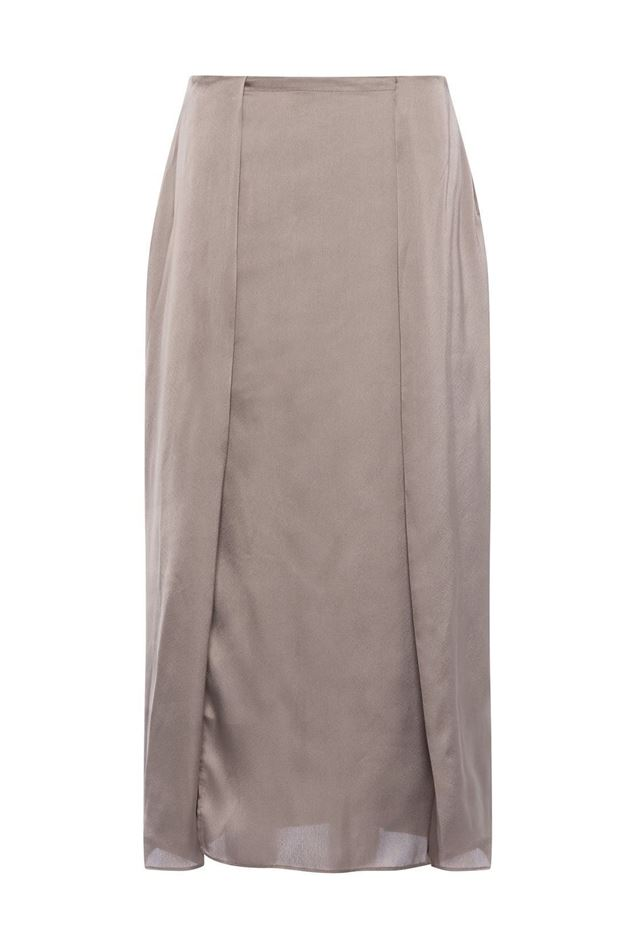 Picture of French Connection Inu Satin Slip Skirt