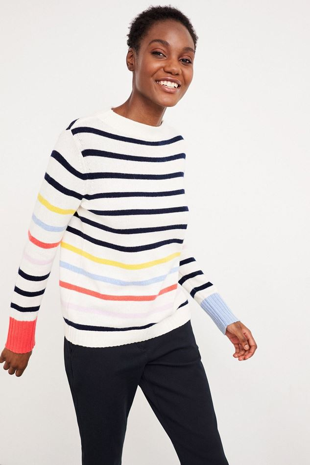 Picture of White Stuff Rainbow Jumper