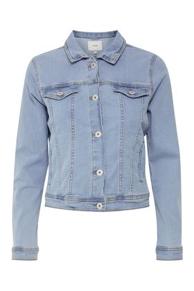 Picture of Ichi Stampe Denim Jacket
