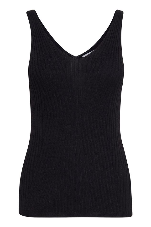Picture of Ichi Minesota Knitted Vest Top