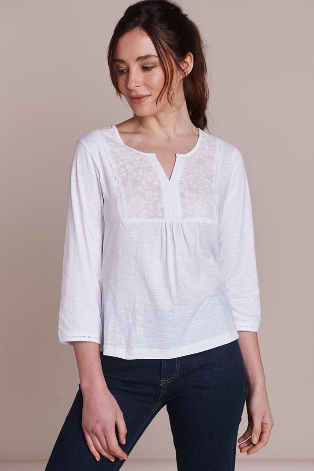 Picture of Mistral Butterfly Embroidered Tee