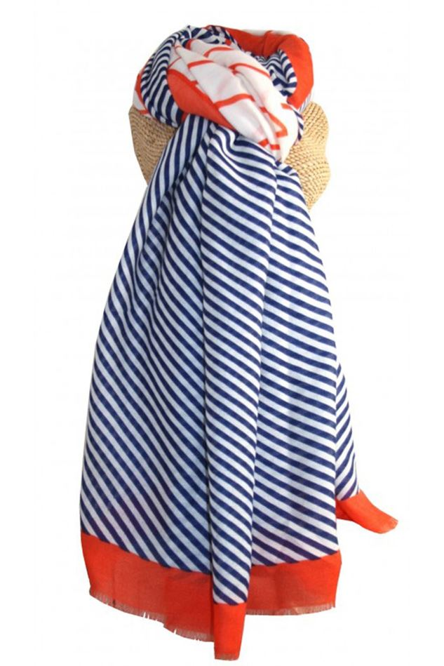 Picture of Lua Zig Zag Stripes Scarf