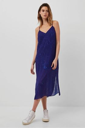 Picture of French Connection Calandra Crinkle Slip Dress