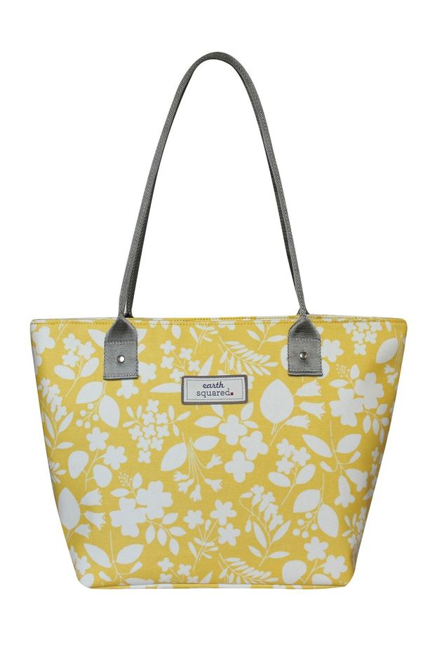 Picture of Earth Squared Spring Oil Cloth Tote Bag