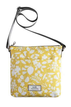 Picture of Earth Squared Spring Oil Cloth Messenger Bag