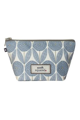 Picture of Earth Squared Spring Oil Cloth Make Up Bag