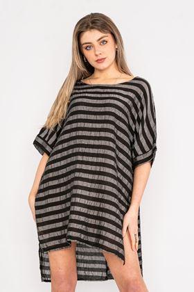 Picture of Linen/Cotton Stripe Tunic