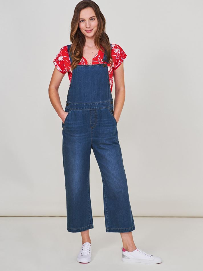 Picture of White Stuff Summer Cropped Dungaree