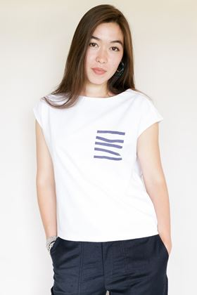 Picture of Mousqueton White Wendy T Shirt