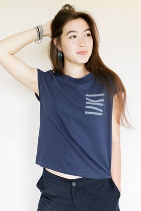 Picture of Mousqueton Marine Navy Wendy T Shirt