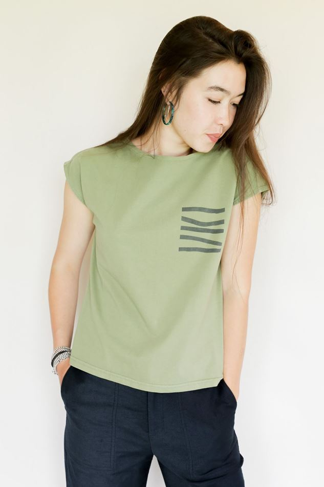 Picture of Mousqueton Sage Wendy T Shirt