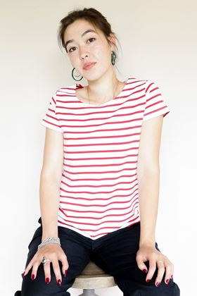 Picture of Mousequeton Kanouky Stripe T Shirt