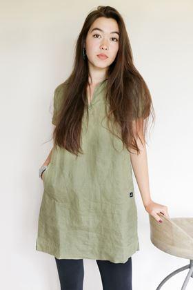 Picture of Mousqueton Grana Linen Dress