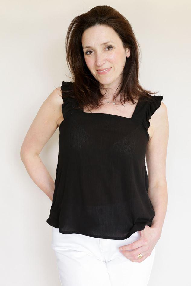 Picture of Ichi Marrakech Short Sleeve Top