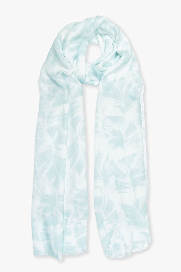 Picture of Katie Loxton Palm Leaf Print Scarf