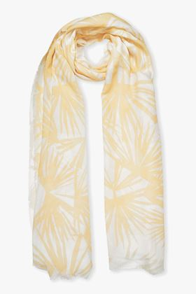 Picture of Katie Loxton Tropical Leaf Print Scarf